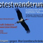 Protestwanderung Poster 0914